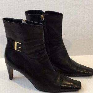 Authentic CHANEL Ankle Boot Black Size 9B
